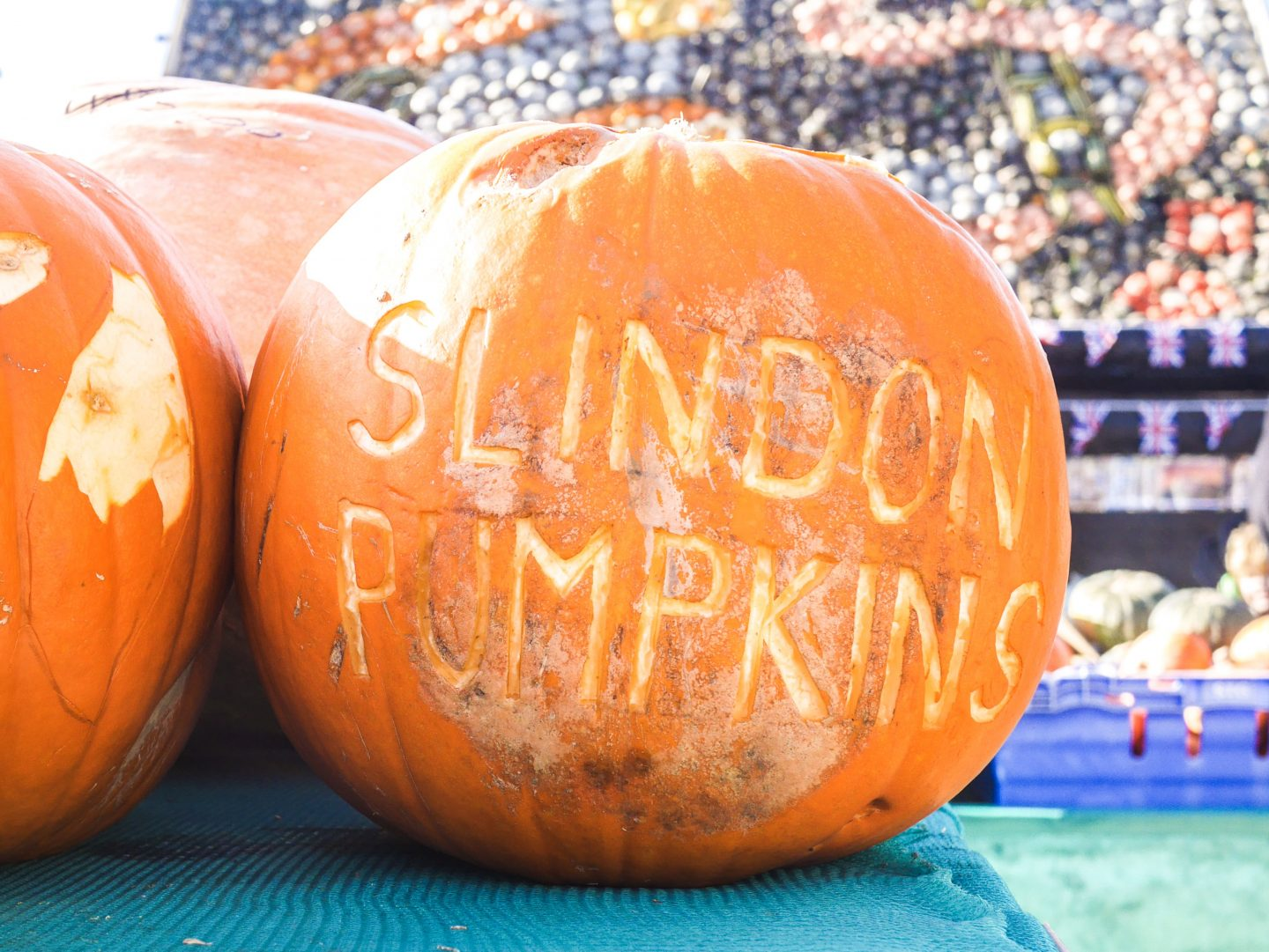 Slindon Pumpkins & The Bridle Road to Bignor