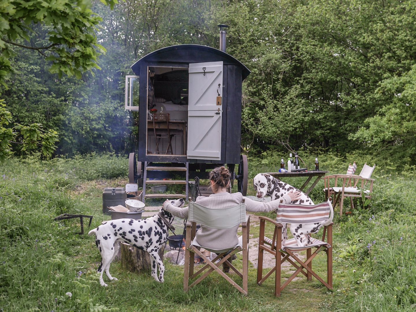 Back to Basics at Wriggly Tin Shepherds Huts